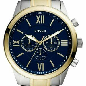 New FOSSIL FLYNN Men's Chronograph Watch